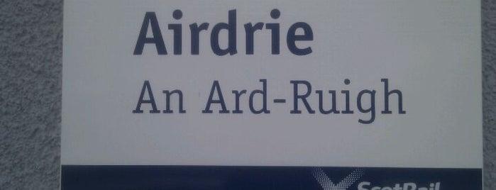 Airdrie Railway Station (ADR) is one of Lieux qui ont plu à Jonathon.