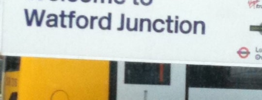 Watford Junction Railway Station (WFJ) is one of You calling me a train spotter?.