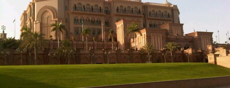 Emirates Palace Hotel is one of Relax in Abu Dhabi.