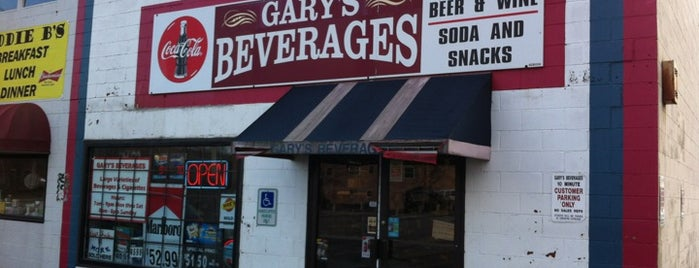 Gary's Beverages is one of Lieux qui ont plu à Travis.