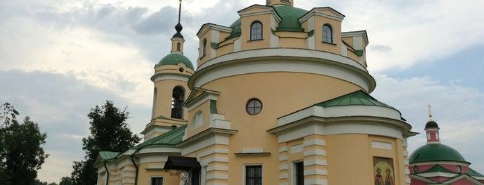 Борисо-Глебский Аносин женский монастырь is one of Храмы Истринского района.