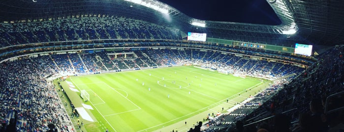 Estadio BBVA is one of Orte, die Adiale gefallen.