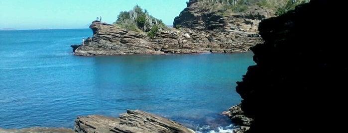 Praia da Ferradurinha is one of Diversos.