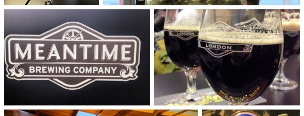 Meantime Brewing Company is one of Greenwich and Docklands; London.