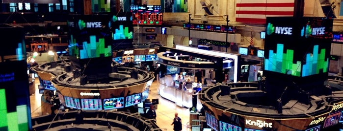 New York Stock Exchange is one of #myhints4NewYorkCity.
