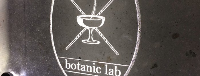 Botanic Lab is one of Manhattan Drinks.