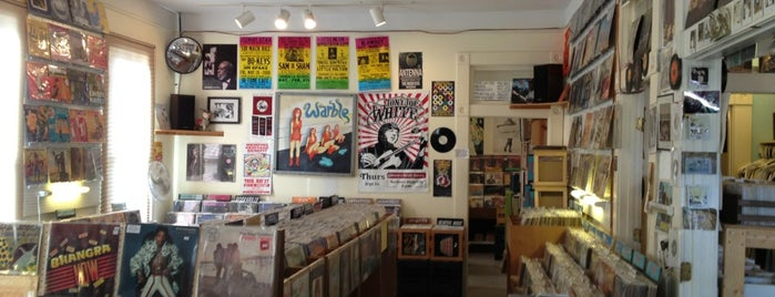 Shangri-La Records is one of Record Stores.