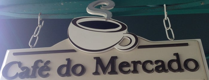 Café do Mercado is one of Lugares favoritos de Carl.