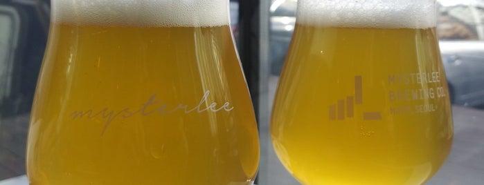 Mysterlee Brewing Co. is one of Craft Beer.