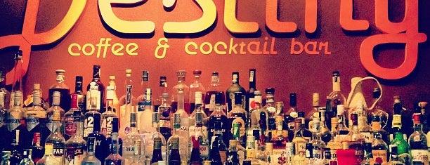 Destiny Coffee & Cocktail Bar is one of Petr: сохраненные места.