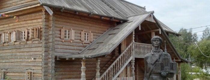 Этноотель Сибирия is one of Надо посетить.