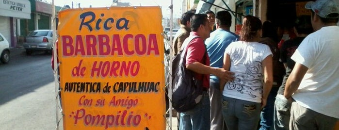 "Barbacoa ""Pompilio"" is one of PA PROBAR."