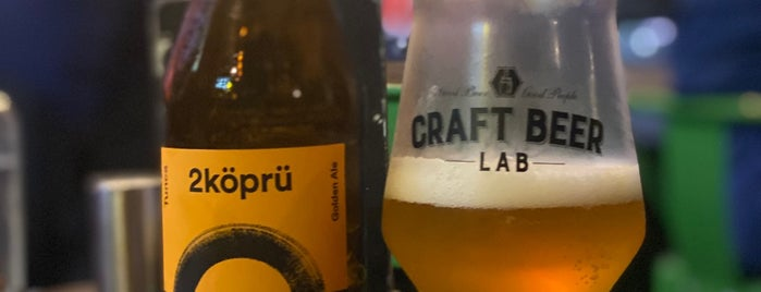 Craft Beer Lab is one of İstanbul.