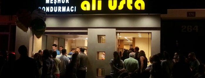 Meşhur Dondurmacı Ali Usta is one of Tatlı, Dondurma ve Fırın.