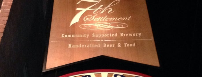 7th Settlement Brewery is one of New England Breweries.