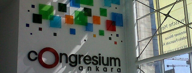 Congresium Ankara is one of Evren 님이 좋아한 장소.