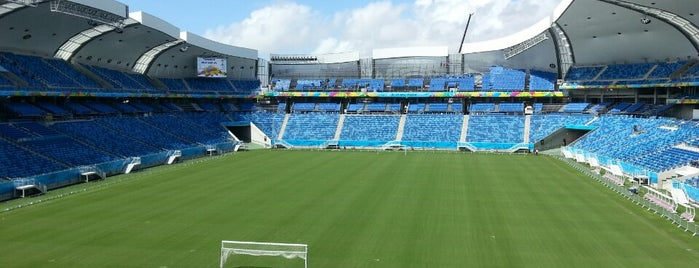 Arena das Dunas is one of Big Matchs's Today!.