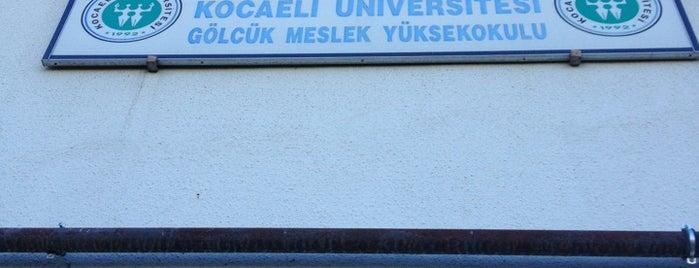 Kocaeli Üniversitesi Gölcük Kampüsü is one of Gölcük ,Değirmendere & İzmit ,Kocaeli✈️⚓️.