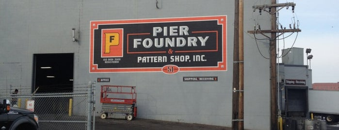 Pier Foundry is one of Angie 님이 저장한 장소.