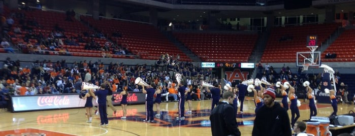 Auburn Arena is one of Sporting Venues....