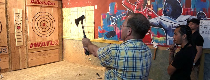 Bad Axe Throwing is one of Chicago.