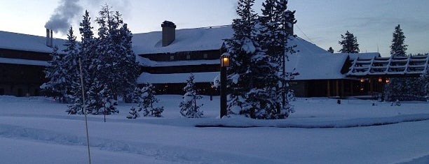 Old Faithful Snow Lodge Yellowstone National Park is one of Rockies trip.