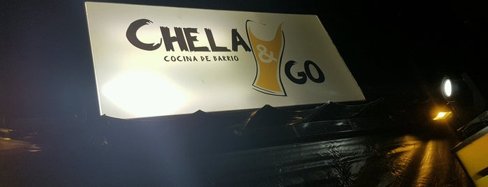 Chela & Go is one of #DesdeTijuana Border Psycho en barril en#CDMX.