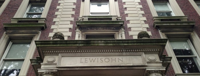 Lewisohn Hall is one of Tempat yang Disukai Will.