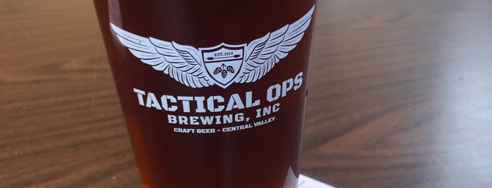 Tactical Ops Brewery is one of Yet to Visit.