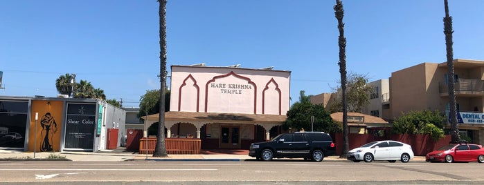Hare Krishna Temple is one of San Diego.