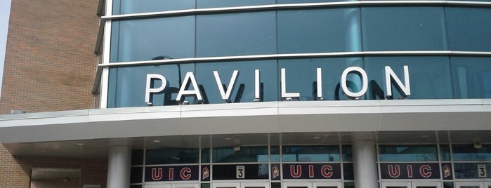 UIC Pavilion is one of Basketball Arenas.