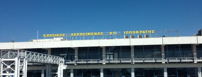 "Kos International Airport ""Hippocrates"" (KGS) is one of HAVALİMANLARI /  AİRPORTS  All The World."