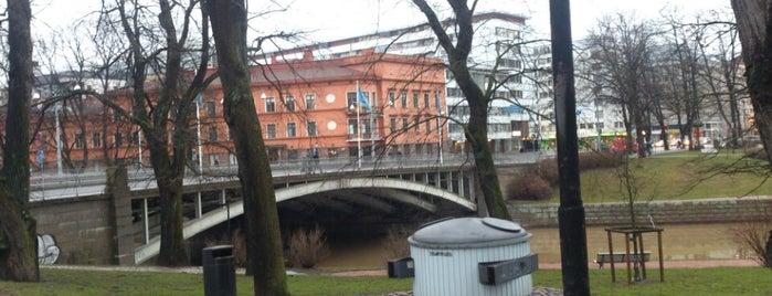Tuomiokirkkosilta is one of Turku.