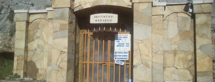 Zeytintaşı Mağarası is one of Antalya.