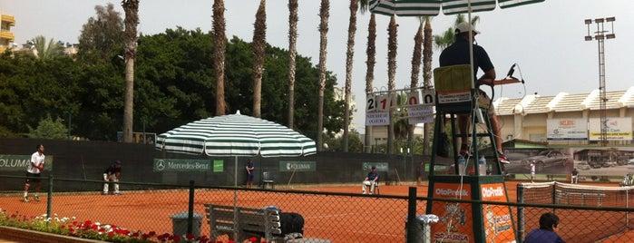 Mersin Tenis İhtisas Kulübü (METİK) is one of Orte, die Nazım gefallen.
