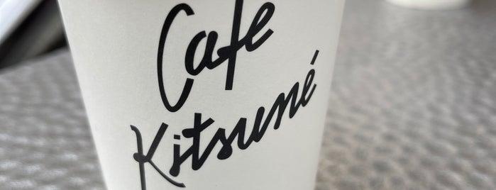 Café Kitsuné is one of London.