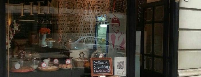 Hendrick's Cafe et Boulangerie is one of Coffee & Tea.