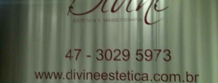 Divine Estética e Massoterapia is one of Lugares favoritos de GabiS.