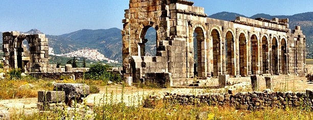 Volubilis is one of Morocco.