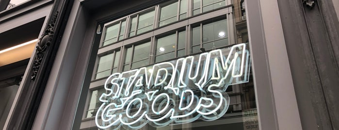 Stadium Goods is one of New York, New York.