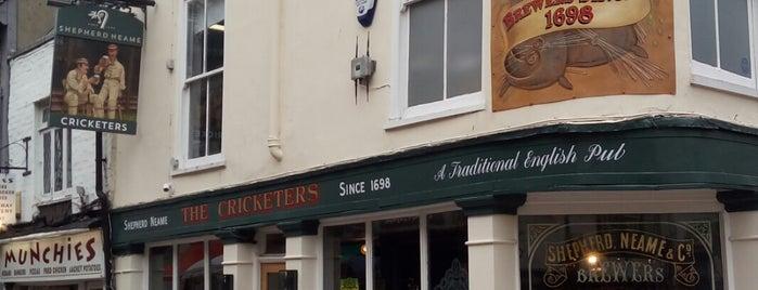 Cricketers is one of สถานที่ที่ Karel ถูกใจ.