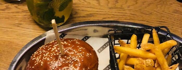 Ketch Up Burgers is one of Пуфик мог бы здесь пожрать.