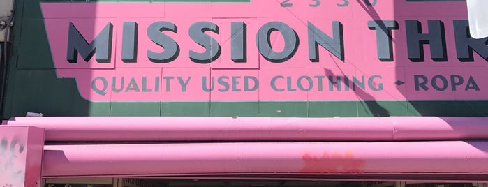 Mission Thrift is one of bay area.