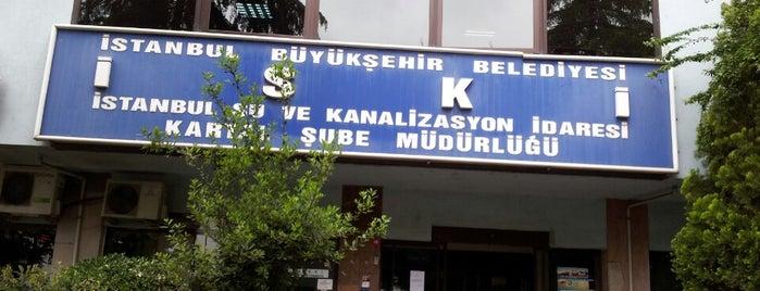 İSKİ is one of สถานที่ที่ Mert ถูกใจ.