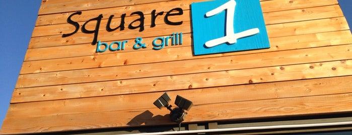 Square One Bar & Grill is one of Lieux qui ont plu à Garrett.