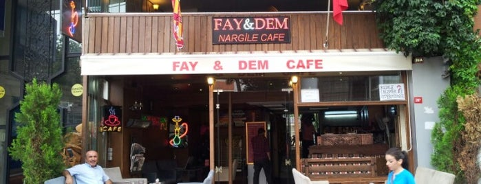 Fay&Dem Nargile Cafe is one of Orte, die Zeynep gefallen.