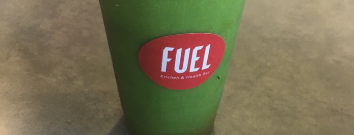 Fuel Kitchen & Health Bar is one of Locais salvos de Colleen.