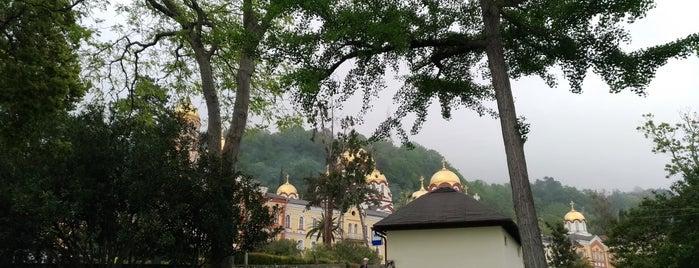 Новоафонский монастырь is one of FELICE : понравившиеся места.