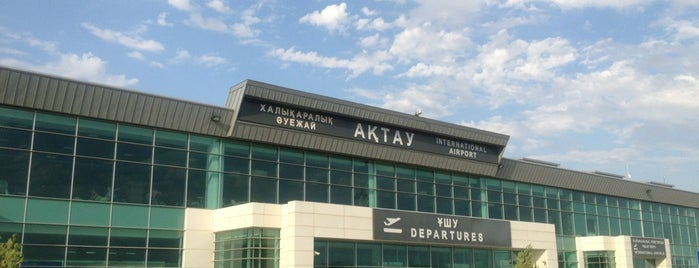 Aktau International Airport (SCO) is one of Aeroporto 2.