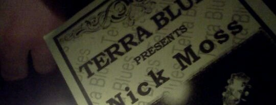 Terra Blues is one of NYC's Greenwich Village.